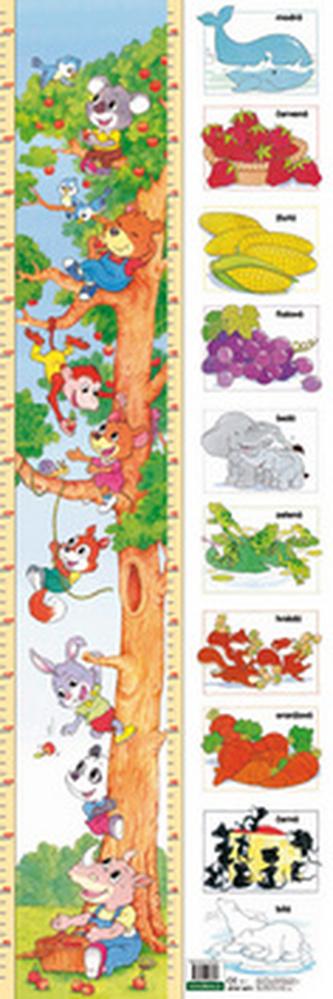 Dětský metr 13 Strom+barvy