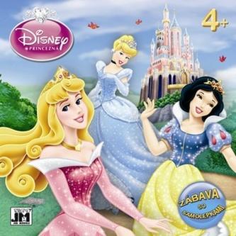 Disney Princezná Zábava so samolepkami