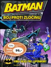 Batman boj proti zločinu - Kniha úkolů pro superhrdinu