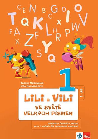 Lily a Vili - Učebnice ČJ pro 1. ročník ZŠ (genetická metoda),  ve světě velkých písmen