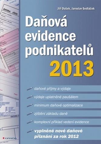 Daňová evidence podnikatelů 2013
