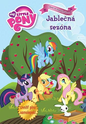 My Little Ponny - Jablečná sezóna - čtení se samolepkami