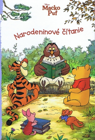 Macko Puf Narodeninové čítanie