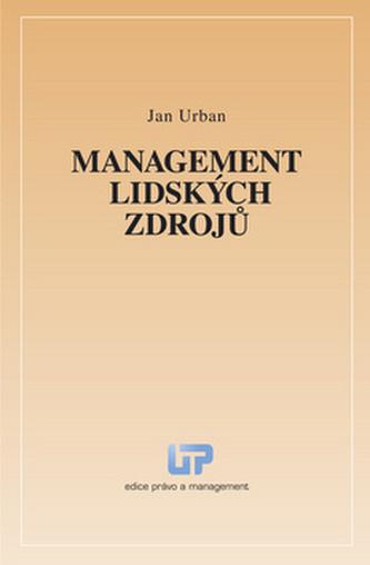 Management lidských zdrojů - Jan Urban