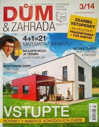 Vzorové číslo časopisu Dům a zahrada + sleva na roční předplatné v hodnotě 456 Kč