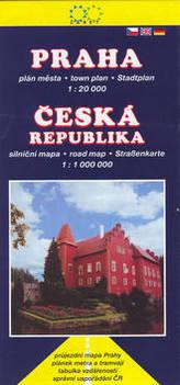 Praha 1:20 000, ČR 1:1 000 000 nové vydání