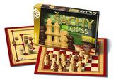 Společenská hra - Šachy,Dáma,Mlýn