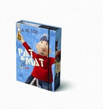 Box na sešity A5 - Pat a Mat (2 druhy)