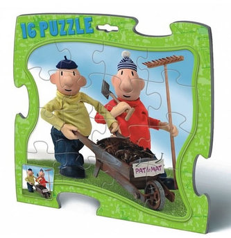 Puzzle 16 deskové - Pat a Mat