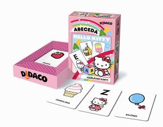 Vzdělávací karty - Abeceda - Hello Kitty