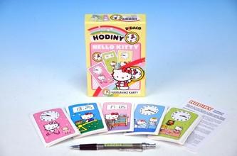 Vzdělávací karty - Hodiny - Hello Kitty - neuveden