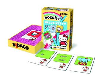 Vzdělávací karty - Rozdíly - Hello Kitty - neuveden