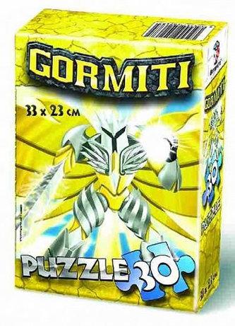 Puzzle 30 v krabičce - Gormiti - neuveden