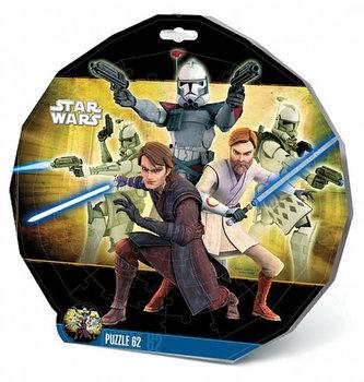 Puzzle 62 deskové - Star Wars