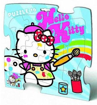 Puzzle 16 deskové - Hello Kitty - neuveden