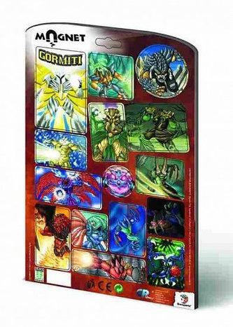 Magnetky A4 - Gormiti