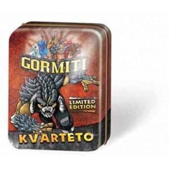 Kvarteto - Gormiti - plechová krabička