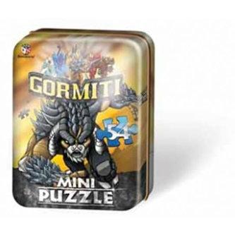 Puzzle Mini 54 - Gormiti I. - plechová krabička - neuveden