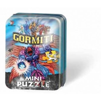Puzzle Mini 54 - Gormiti II. - plechová krabička