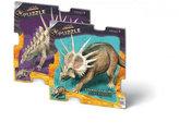 Puzzle 16 deskové - Prehistoric (2 druhy)