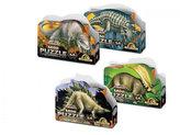 Puzzle Mini 54 - Prehistoric (4 druhy)
