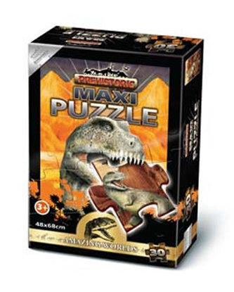 Puzzle Maxi 30 - Prehistoric Ceratosaurus