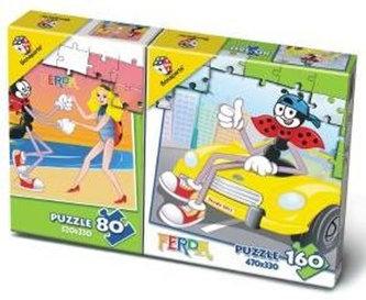Puzzle Mix 80/160 - Ferda Mravenec