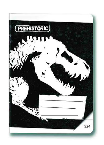 Sešit 524 - Prehistoric Black