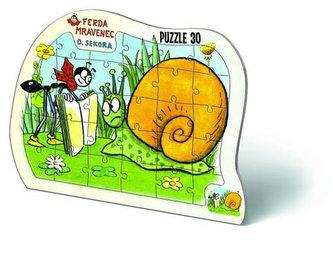 Puzzle 30 deskové - Ferda Mravenec