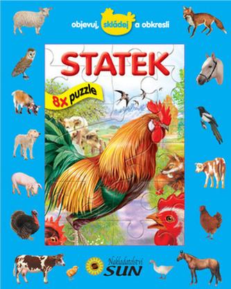 Statek 8x puzzle