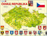 Puzzle MAXI - Mapa ČESKÁ REPUBLIKA/56 dílků