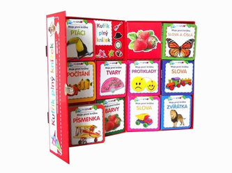 Kufřík plný knížek - Veselé obrázkové čtení pro zvídavé děti - 10 leporel - 2. vydání