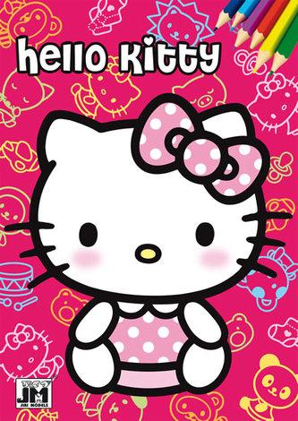 Hello Kitty Omalovánky A5