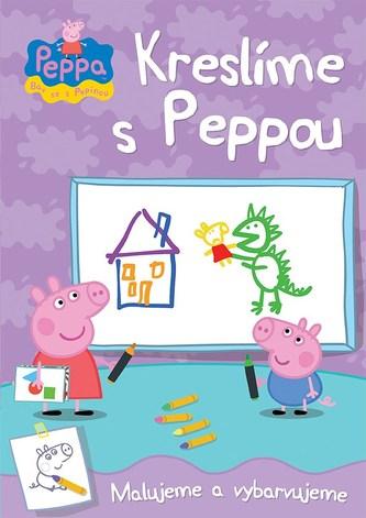 Prasátko Peppa - Kreslíme s Peppou