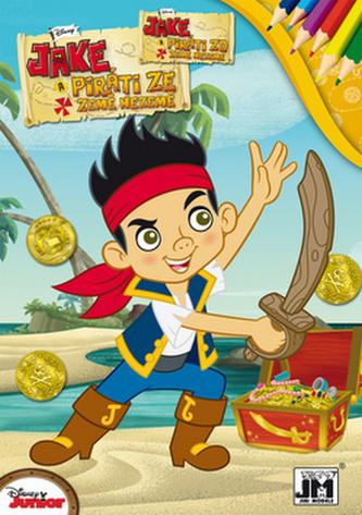 Jake a piráti - Omalovánka A5