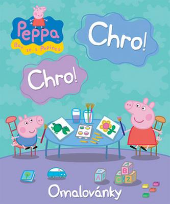 Prasátko Peppa - Chro, chro - omalovánky