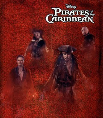 Piráti z Karibiku - Obal A4