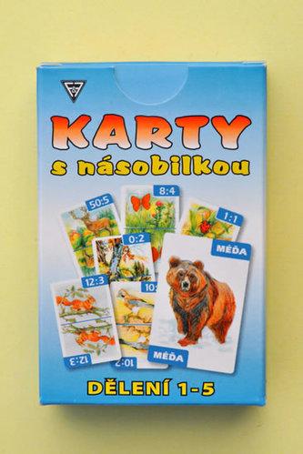 Karty dělení 1 - 5