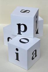 Kostky s písmeny. Určeno pro 1. a 2. třídu ZŠ a pro žáky s SPU