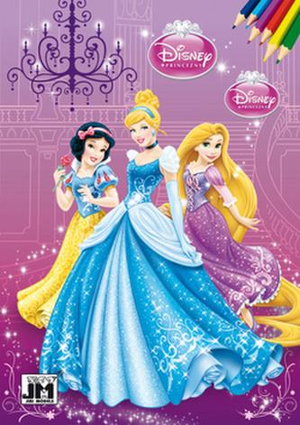 Disney princezny - Omalovának A5