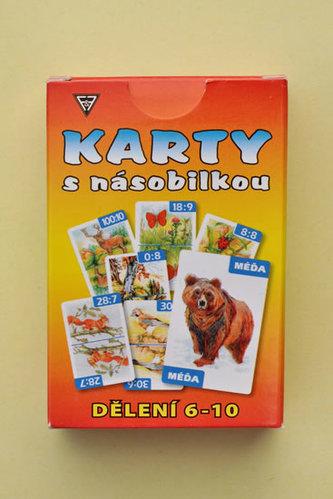 Karty dělení 6 - 10
