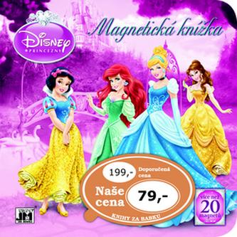 Magnetická knížka Princezny