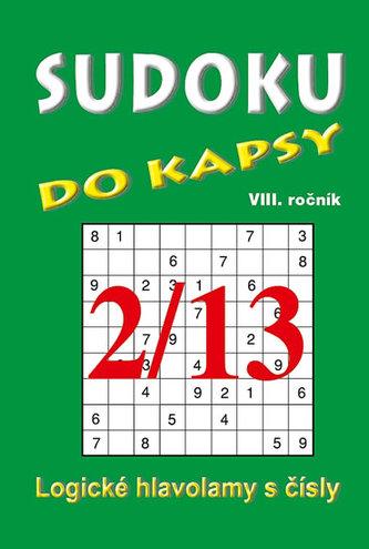 Sudoku do kapsy 2/2013 (zelená)