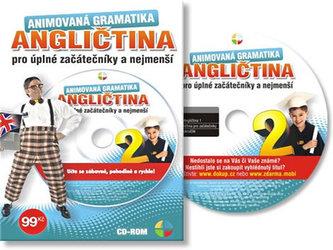 Angličtina animovaná gramatika II. - CD