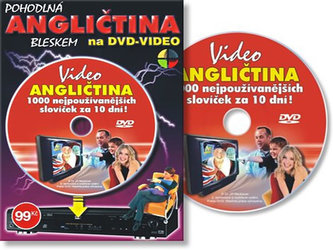 Angličtina 1000 slov za 10 dní - DVD