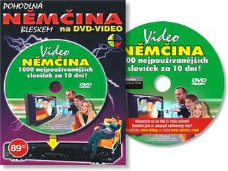 Němčina 1000 slov za 10 dní - DVD