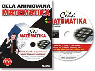 Celá Animovaná Matematika - učivo ZŠ a SŠ - CD