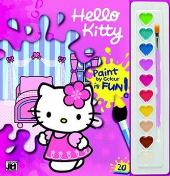 Hello Kitty Omalovánka s barvami