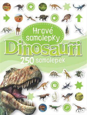 Dinosauři - Hravé samolepky
