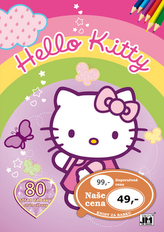 Hello Kitty Omalovánky 80 stran